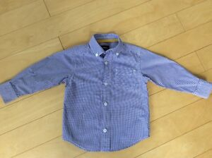 CARTERS boys dress shirt size 2