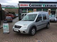 13 REG TRANSIT CONNECT 1.8 T230 TREND CREW CAB 110 BHP LOW MILES OPEN 7 DAYS