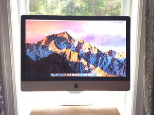 "27"" iMac with macOS Sierra"