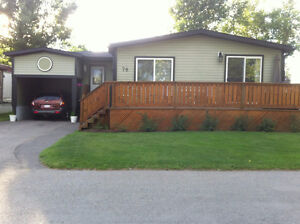 A beautiful double wide mobile home for sale