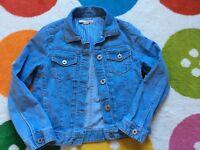 River Island girls denim jacket - age 9 years