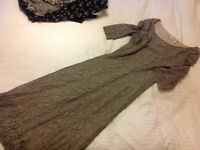 Vintage dress large ... Perfect for Christmas nights