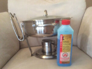 Chafing dish with gelled fuel Cambridge Kitchener Area image 1