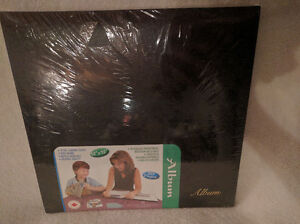 20 Page Large Photo Album - In Black