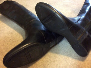 Nine West Genuine Leather Boots (Size 6) London Ontario image 2