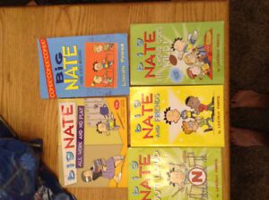 5 big Nate books $10