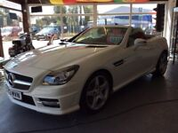 Delivery Available Stunning Mercedes Benz SLK 250 CDI Sport AMG Convertible Blue Efficiency
