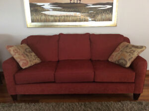 Couch, 2 Recliners, Pictures & 2 Karly Chairs
