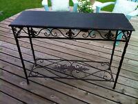 EUC Sofa table or foyer table