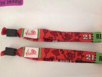 SOLD .... 1 V FESTIVAL RED CAMPING TICKET AT HYLANDS PARK - £140