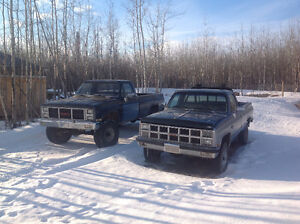 Two square body's and parts