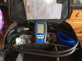 Anton sprint evo 2 flue gas analyser