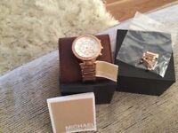 Rose Gold Genuine Micheal Kors watch