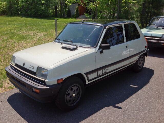canada 1984 renault 5 lecar great condition forum french cars in america. Black Bedroom Furniture Sets. Home Design Ideas