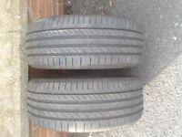 BMW Run Flat Tyres x2