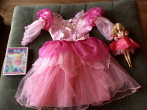 Kit princesse: robe crinoline, film disney, Barbie lumineuse