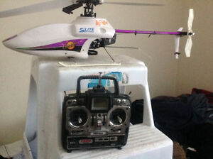 RC electric helicopter   With radio & receiver