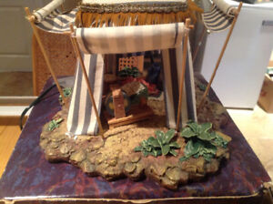Christmas nativity scenes.