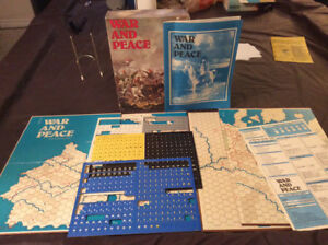 """Avalon Hill Wargame """"War and Peace"""""""