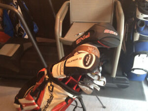 Taylor made Golf Bag and 14 Clubs $250.00 or best Offer