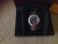 Mens breitling Quartz watch in exc con with all boxes and paperwork