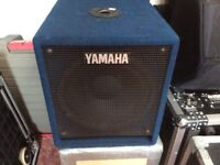 Yamaha PSW12 powered bass speakers