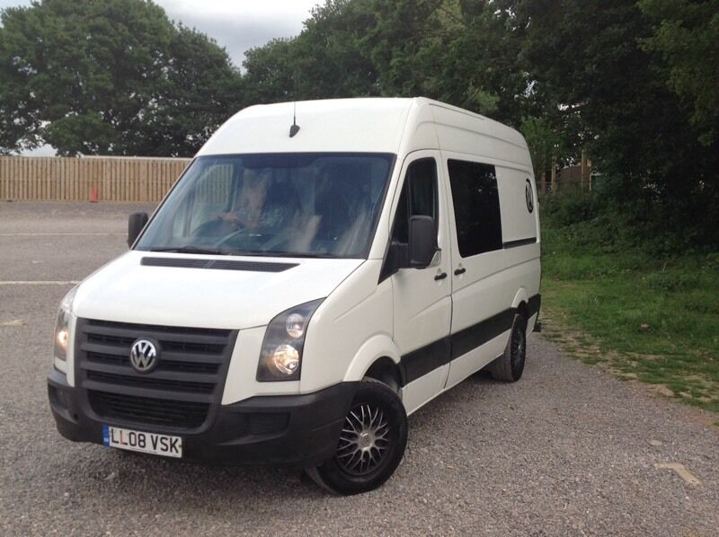 vw crafter campervan diesel 2008 12 mo this mot camper. Black Bedroom Furniture Sets. Home Design Ideas