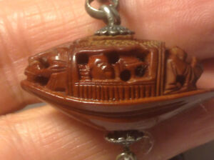 ANTIQUE CHINESE POCKET WATCH CHAIN FOB