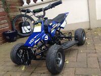 Genuine Blata 50cc mini quad, quadard