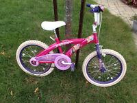 "Velo princesse roues 18"""