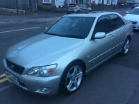 2002 Lexus IS 200 Sport-May 2016 mot-3 owners-service history-6speed gearbox-great value