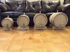 Oak barrels, 1L, 3L, 5L, 10L and more