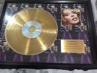 24 carat plated gold discs