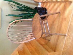 $ 100 - 2 Oak Windsor Chairs