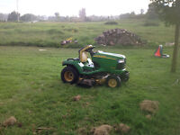 John deere x475 very low hours, top of the line mower!!