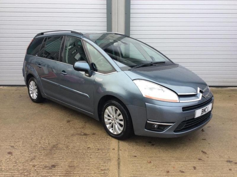 2007 citroen grand c4 picasso 1 6 hdi 16v exclusive egs 5dr in norwich norfolk gumtree. Black Bedroom Furniture Sets. Home Design Ideas