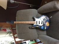 Stratocaster style custom electric