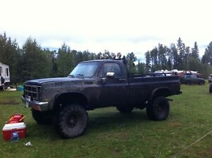 1984 GMC 3/4 ton pickup