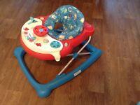 Graco robot baby walker