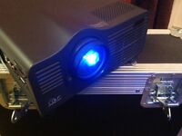NEC Projector and Shipping Case