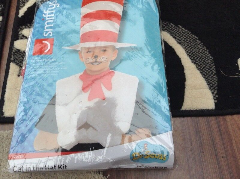 Child's cat in the hat outfit
