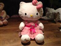 Build a bear Hello Kitty