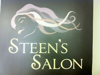 Steen's Salon is looking for a Hair Stylist & Esthetician!