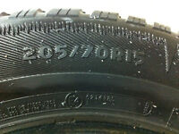 Winter Tires Excellent Conditions