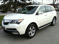 2011 ACURA MDX TECH PKG - NAV|CAMERA|P.SHIFT|DVD|NO ACCIDENTS
