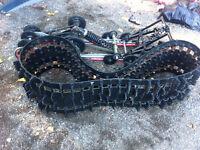 "Yamaha track and skid 144"""