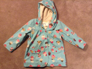 Brand new with tags Hatley raincoat size 5T