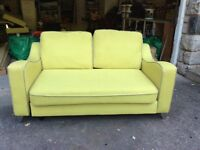 DFS SOFA 2 seater Lime green