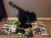 Xbox 360 with loads of extras.