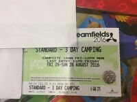 Creamfields Standard 3 day Camping